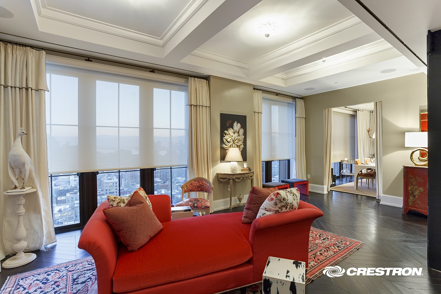 Let's Explore Crestron's Motorized Shade Collection!